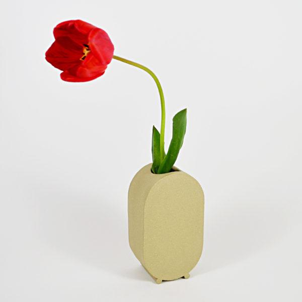 vaza beige