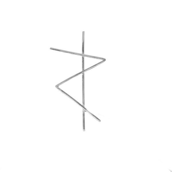 monom brosa-aplhabet-strength argintiu